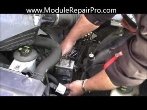 How to remove ABS Pump Control Module (Ford Crown Victoria)  YouTube
