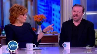 Ricky Gervais Talks Offensive Comedy, New Special 'Humanity' | The View