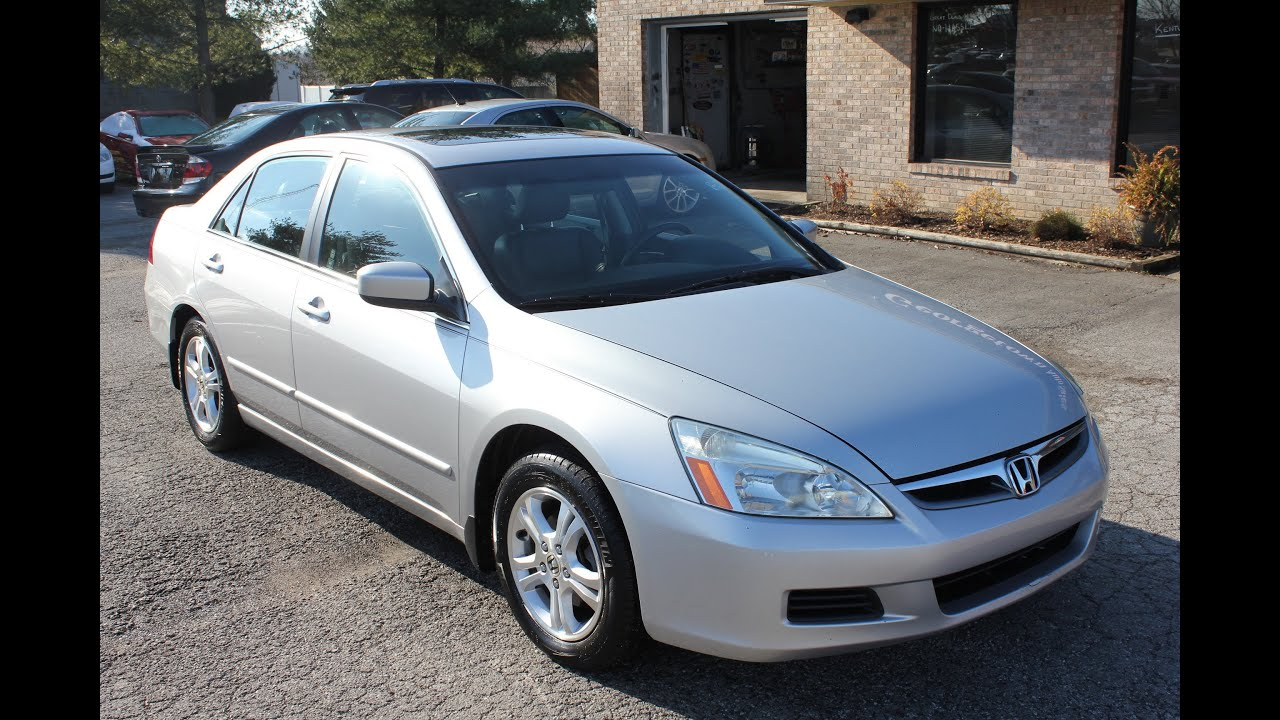 The civic si is nice and all, but the type r is for the true enthusiast driver. Used 2006 Honda Accord EX-L Silver Leather Sunroof for