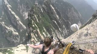 华山 Hua Shan Cliffside Plank Walk
