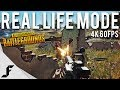 BATTLEGROUNDS REAL LIFE MODE - 4K 60FPS