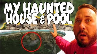 MY HAUNTED POOL & HOUSE OF DOLLS IN 360 VR