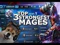 Top 3 Mages In Mobile Legends - Giveaways - Vexana New hero - Kagura - Aurora - Build Rank Diamonds