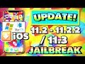 *UPDATE* iOS 11.2 - 11.2.5 / 11.3 Jailbreak News! iPhone, iPad, iPod 11.2, 11.2.1, 11.2.2, 11.3