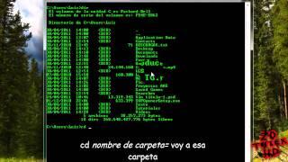 Como usar CMD / MS-DOS - Comandos - Windows - Parte 1/2 - 2011 [HD]