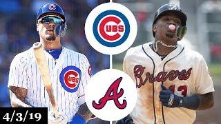 Chicago Cubs vs Atlanta Braves Highlights | April 3, 2019