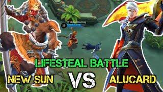 New Sun VS Alucard [King Monkey VS King Lifesteal] #Experiment