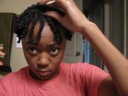 two strand twist tutorial short
