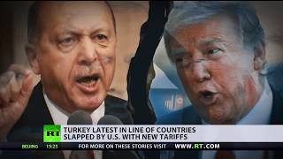 World financial markets suffer as US-Turkey ties decline, Washington vows to keep sanctions