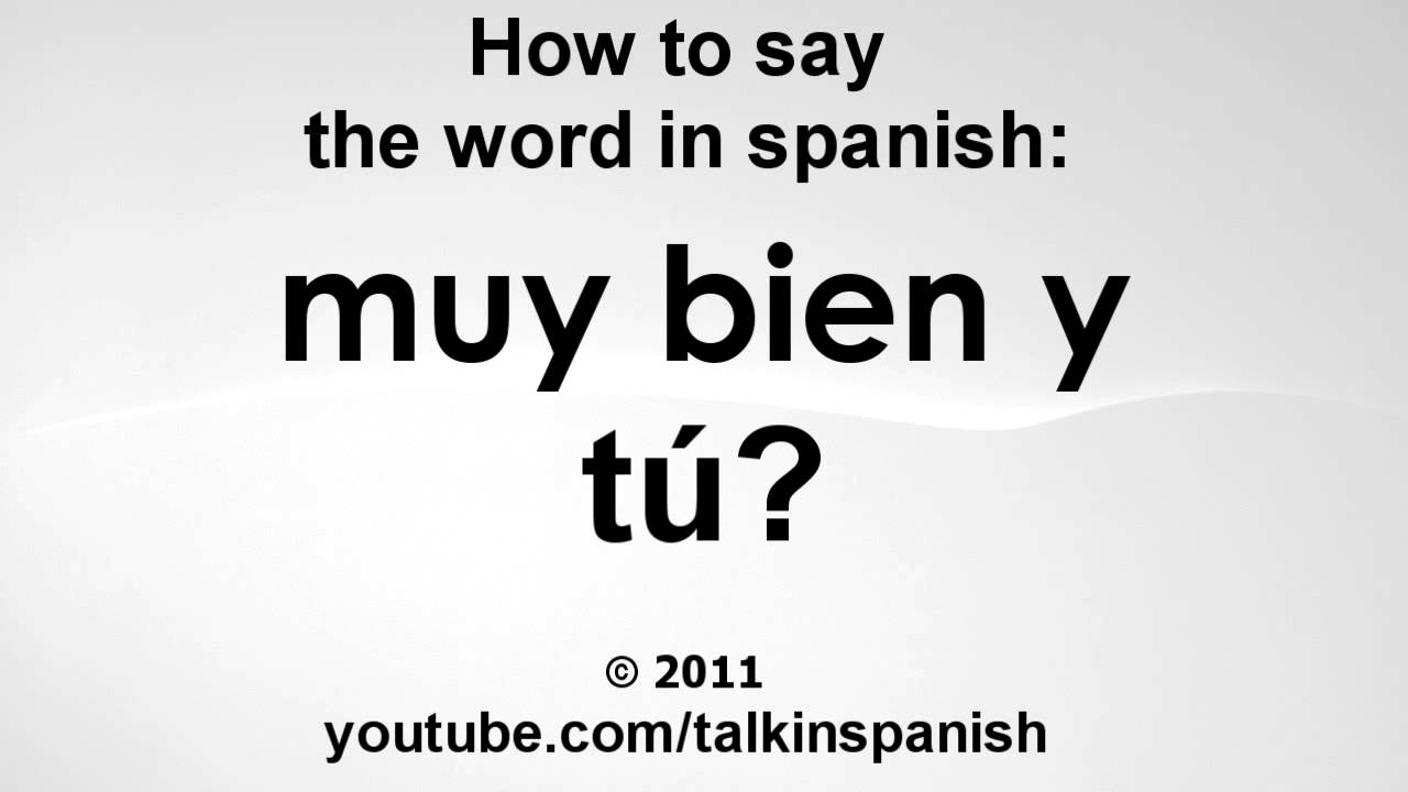 How Say End Spanish