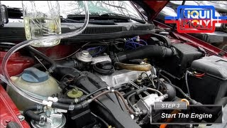 How To Do The Liqui Moly Diesel Purge On a Volkswagen TDI