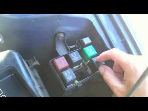 2004 Matrix Fuse Box How To Fix A Toyota That Died On The Road Youtube