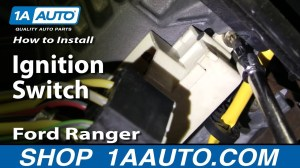 How To Install Replace Ignition Switch Ford Ranger 9504 1AAuto  YouTube