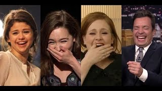 Top 10 Celebs Can't Stop Laughing