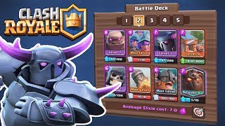ONLY HEAVY CARDS :: Clash Royale :: WOW, THIS 7.0 DECK IS FUNNY!