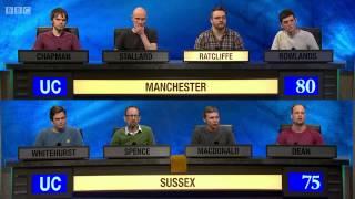 University Challenge S44E16 Manchester vs Sussex