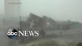 Record-breaking hurricane slams Florida Panhandle
