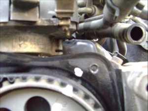 Motor Nissan 30 Lts V6 cambio de banda de distribución