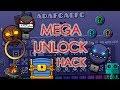 UNLOCK ALL ICON AND DEMON GUARDIAN KEY!!! MEGA UNLOCK HACK | Geometry Dash 2.12