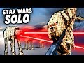 New HAN SOLO Map! AT-AT Walkers and GRAV TRAINS (Forts Star Wars Mod)