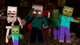 ♫ ″War″ - A Minecraft Parody song of ″Burn″ By Ellie Goulding ″Animated Minecraft Parody″