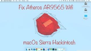 Download Kext for wifi AR9565 hackintosh 10 11 6(beta2) work