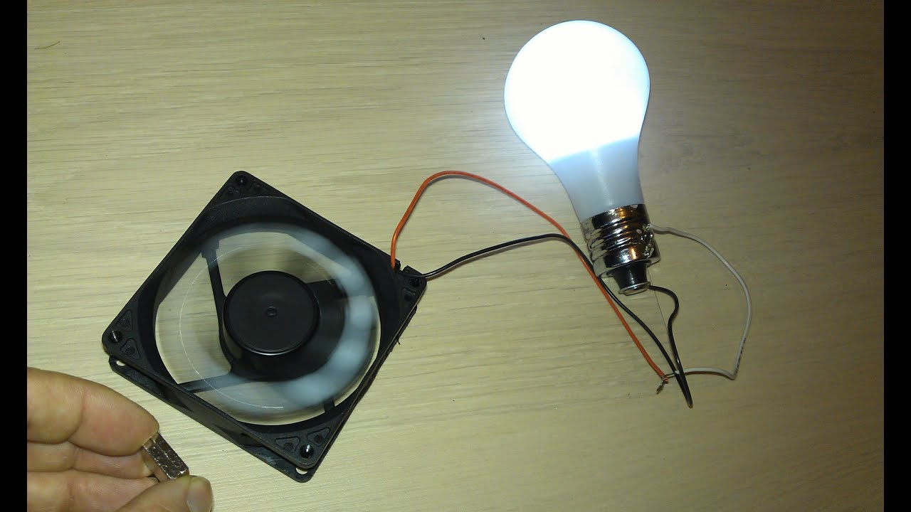 Fan Light Bulb