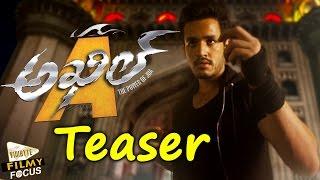 Akhil Telugu Movie Latest Teaser | Akhil Akkineni, Sayesha Saigal, V.V. Vinayak