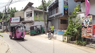 Unawatuna Beach Street Sri Lanka #walk