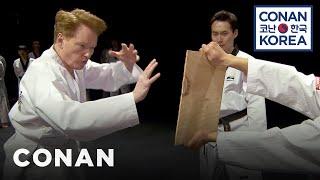 Conan Becomes A Tae Kwon Do Master