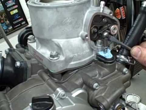 Sx Wiring Diagram How To Remove Ktm 250 300 Powervalve Linkage Youtube