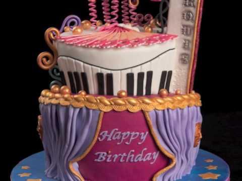 Rockstar Girl Wallpaper Theater Birthday Cake Youtube