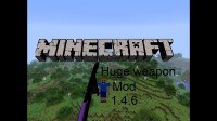 Minecraft Mod: Huge Weapon (Scythe-Axe) [1.4.6] [Episode ...