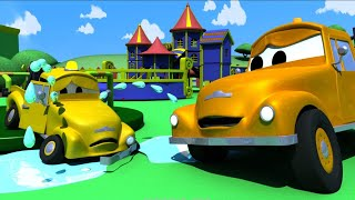 Tow Truck for kids - Babies' Accident - Tom The Tow Truck in Car City