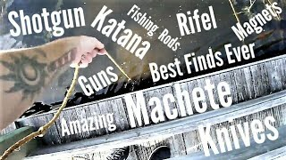 Best Magnet Fishing Finds Of All Time Compilation