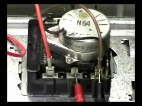 M460 G Wiring Diagram Timer Replacing Ge Electric Dryer Youtube