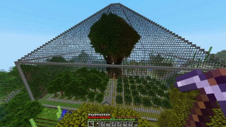 minecraft buildings awesome cool tree utilities programs apps farm amazing building structure houses glass pyramid