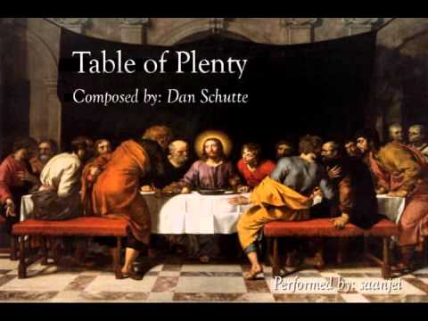 Jesus Last Supper Hd Wallpaper Table Of Plenty Dan Schutte With Harmony And Descant