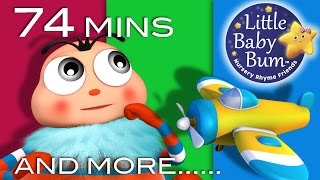 Itsy Bitsy Spider   Part 2   Plus Lots More Nursery Rhymes   74 Mins Compilation from LittleBabyBum!