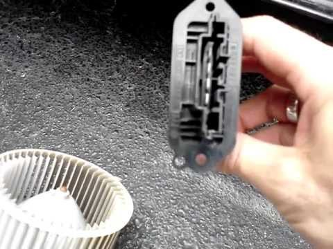 2007 Ford Fusion Ac Wiring Diagram How To Remove Mazda 3 Blower Motor And Resistor Explained