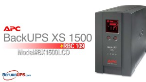 RBC109 Battery Replacement for APC BackUPS XS 1500  YouTube