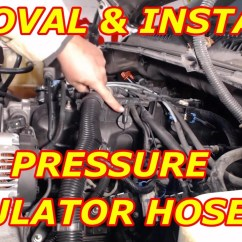 2002 Kia Spectra Engine Diagram 2004 Gmc Yukon Parts Fuel Pressure Regulator Vacuum Hose Replacement - Youtube
