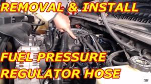 Fuel Pressure Regulator Vacuum Hose Replacement  YouTube