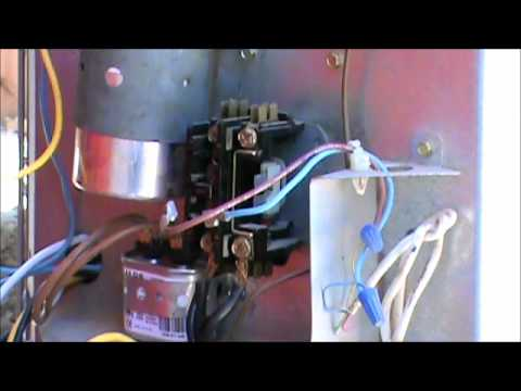 t1 wiring diagram electrical 2 way switch fix your own ac - how to change a contactor youtube