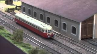 EUROSPOOR 2015 - Utrecht - part 1/2 - modélisme ferroviaire - HD