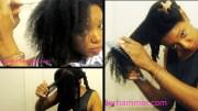 detangle fine 4a hair