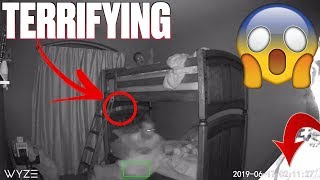 TERRIFYING NIGHT CAUGHT ON CAMERA   KIDS START SCREAMING AT 3AM   WAS A GHOST IN THEIR ROOM?!