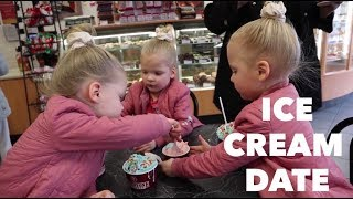 YOU WON'T BELIEVE WHAT THE GIRLS DID WITH THE ICE CREAM MIMI AND PAPA BOUGHT THEM