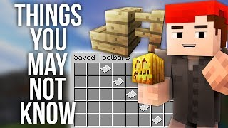 7 Things You May Not Know About Minecraft 1.12