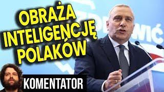 Platforma Obywatelska Obraża Inteligencję Polaków - NIKT W TO NIE UWIERZY - Analiza Komentator PL